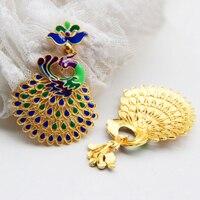 Aladdin Cupronickel fa wisiorek Cloisonne emalia DIY Paw sweter łańcucha biżuteria etniczna elementy slap-up Metal