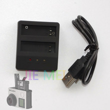 Gopro Hero 4 Dual Charger + USB Cable for go pro 4 go pro battery gopro Sports Digital camera AHDBT-401 Gopro Charger