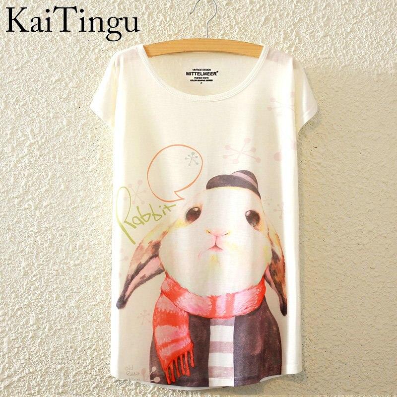 HTB19dhPLpXXXXbGXFXXq6xXFXXXT - New Fashion Summer Animal Cat Print Shirt O-Neck Short Sleeve T Shirt