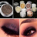 5 Colors Pro Makeup Glitter Eyeshadow Shimmer Smoky Eye Shadow Pigment Loose Powder Beauty Makeup