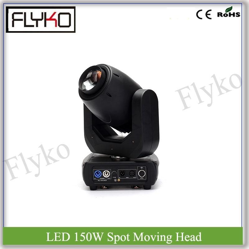Livraison gratuite spot effet lumière dmx 150 W led moving head 7 couleurs lumière
