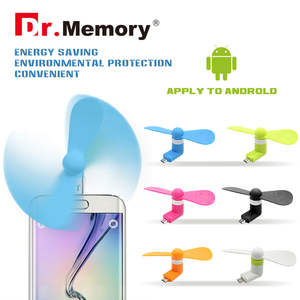 Cooling Mini Fan For Android Phone Summer 5 Pin Portable Super Mute USB Cooler