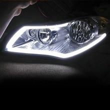 Ar-Led-Strip-Light Headlight-Lamp Decorative Soft-Tube Flexible 45cm 2pcs Daytime RL