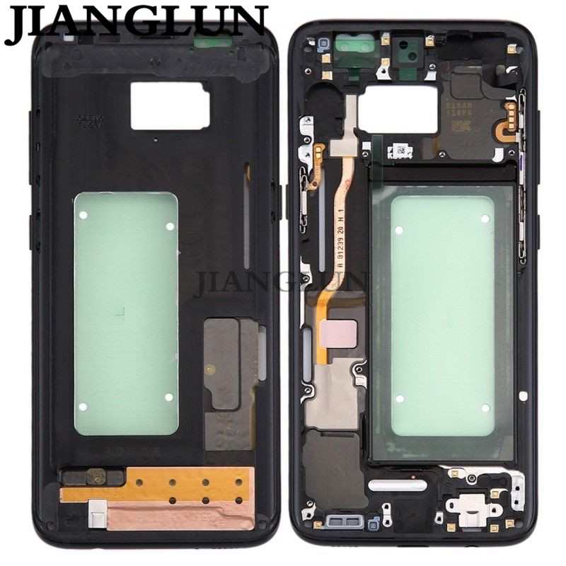 JIANGLUN Middle Frame Frame Camera Glass Housing For Samsung Galaxy S8 G950 G950FJIANGLUN Middle Frame Frame Camera Glass Housing For Samsung Galaxy S8 G950 G950F