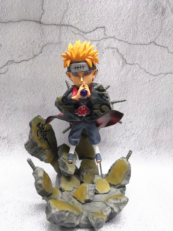 Nouveau 25 cm GK Naruto LBS livraison douleur Akatsuki figurine d'action PVC Statues modèle à collectionner jouet