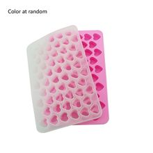 Mini Heart Shape Jewelry Mold Silicone Epoxy Resin Casting Pendant Crystal Molds