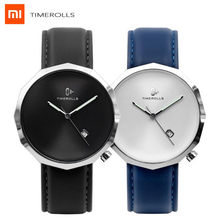 Xiaomi TIMEROLLS NUT Quartz Watch 12 corner design Synthetic sapphire Mirror Luminous Pointer Leather strap Water Resistant Watc(China)