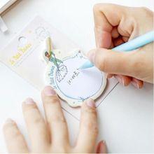 Notas pegajosas planejador adesivo 1 pçs bloco de memorando pós papel dos desenhos animados kawaii papelaria papelaria material escolar escritório