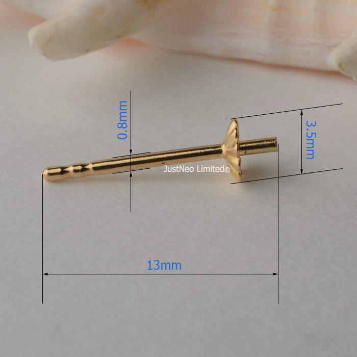 JEWELLERY MAKING ROUND 18ct YELLOW GOLD WIRE 0.5mm DIAMETER in multiples of 10mm
