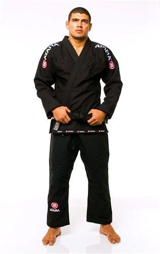 Free Shipping! Atama Mundial #9 Brazillian Jiu Jitsu Gi BJJ Gi Uniform BJJ Kimono MMA- Black A1-A4 black floral kimono