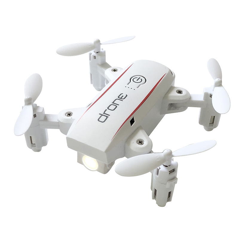 FEICHAO 1601 Mini Drones with Camera HD 0.3MP 2MP Drone Foldable Real Time Video Altitude Hold WIFI FPV RC Quadcopter Toys Dron 12