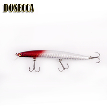 DOSECCA Minnow fishing lure 20.5g 140mm hard bait carp fishing isca artificial bait boat cheap lures China fish supplies baits