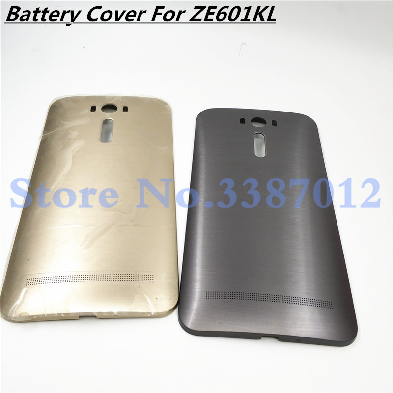 Original New Battery Door Back Cover Housing Case For ASUS Zenfone 2 Laser ZE600KL ZE601KL Z011D With Power Button +Logo image