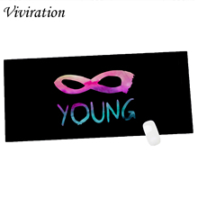 Viviration Brand XL Size 900 X 400 X 2 mm Rubber Gaming Mouse Pad Mat Computer Laptop Keyboard Mat Extra Large Size Table Mat