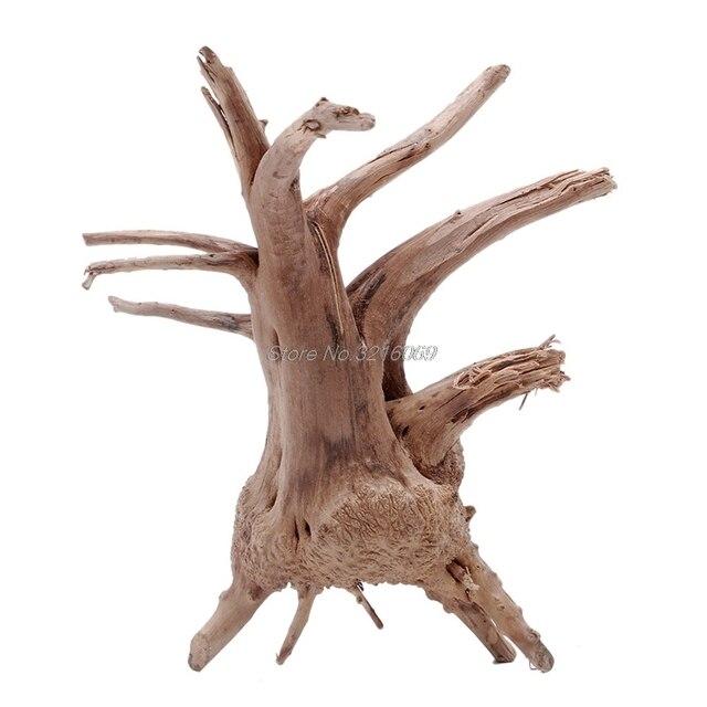 1 шт. деревянный аквариум Driftwood натуральное дерево ствол дерева аквариумный Аквариум завод Aquario аквариум украшения