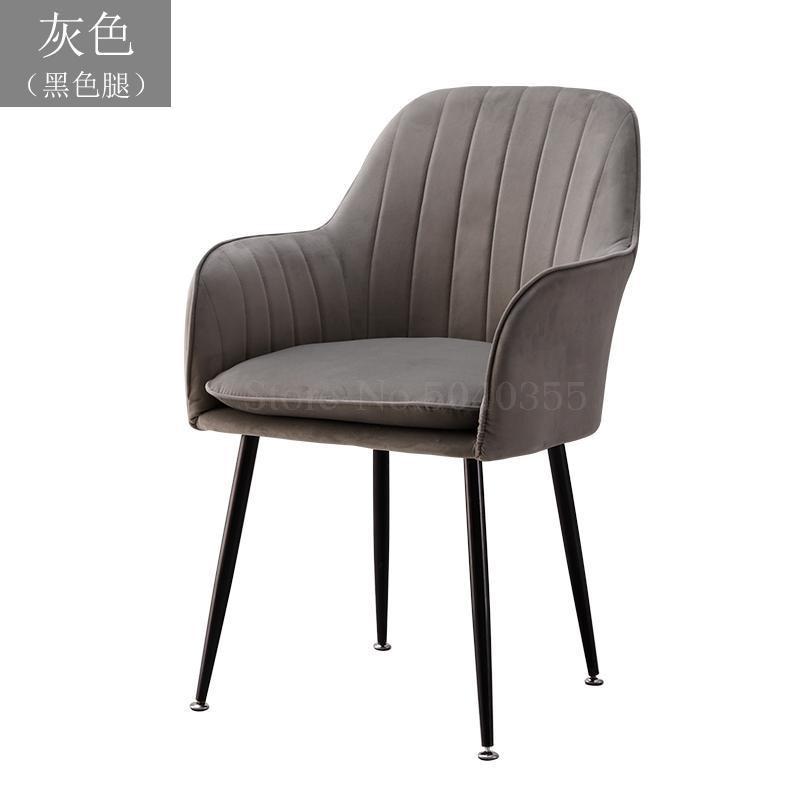 Современный дизайн, мягкий обеденный стул, модный прозрачный стул для гостиной, отдыха, мебель, стул-Лофт - Цвет: VIP 9