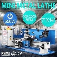 550W Precision Mini Metal Lathe Metalworking Variable Speed Tooling Infinite