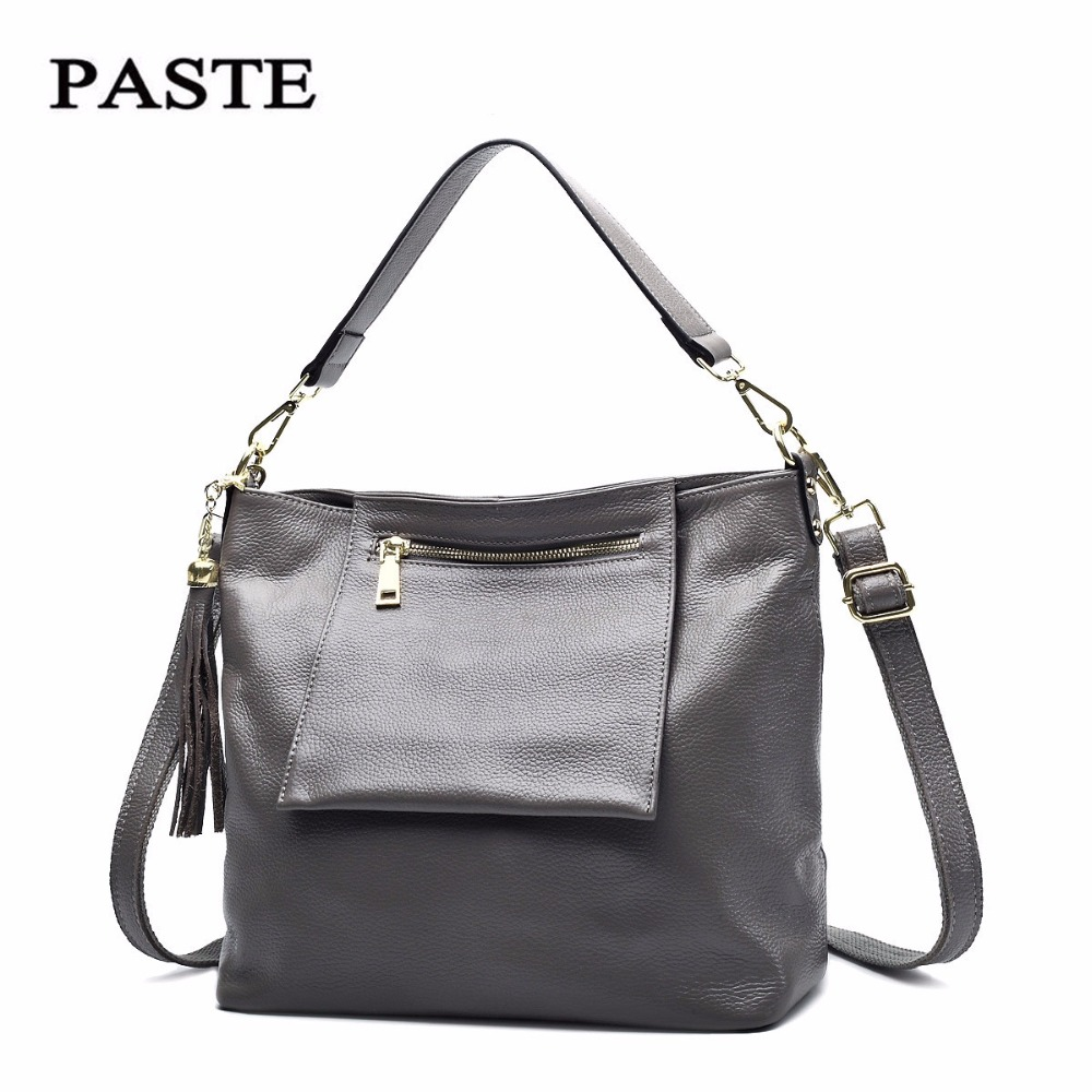 Real Cow Leather Ladies HandBags Women Genuine Leather bags Totes Messenger Bags Hign Quality Designer Luxury Brand Bag new C324 donghong real cow leather ladies hand bags women genuine leather handbag shoulder bag hign quality designer luxury brand bag