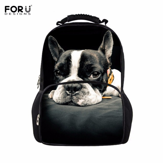 FORUDESIGNS 3D Dog Wolf Horse Women Backpack Women's Casual Travel Backpacks  Large Capacity School Knapsack Teen Shoulder Bags