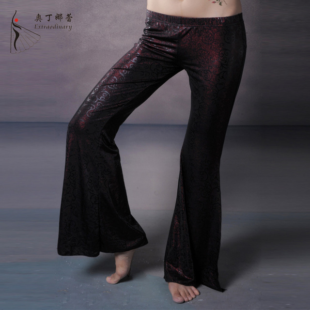 778984c5d4168 Dancewear Belly Dance Pants Satin Pants Professional Belly Dance Trousers Yoga  Pants Dancing For Women Tribal