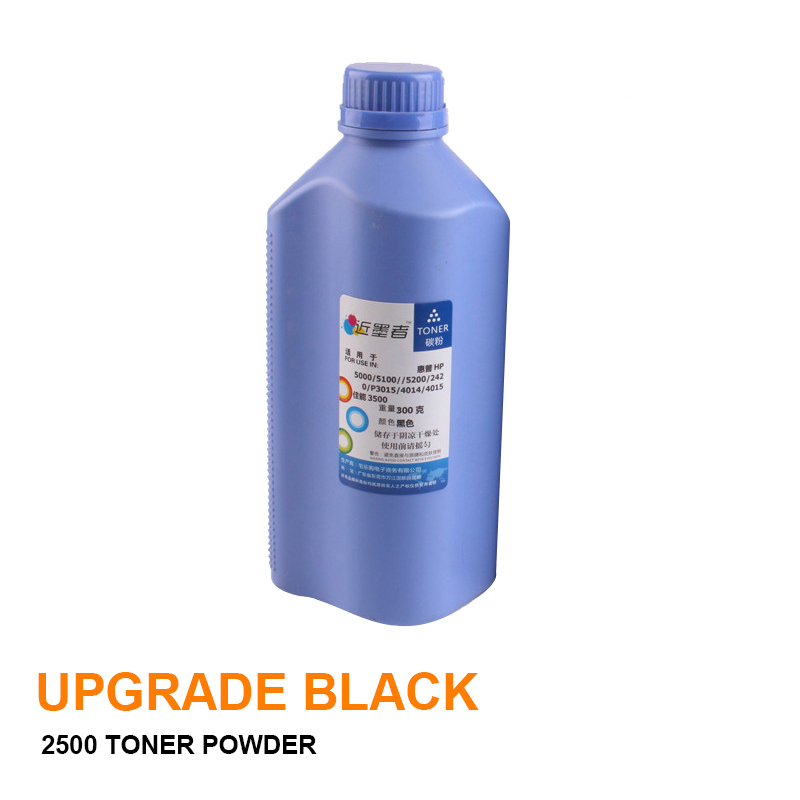 300g Black Refill Toner Powder Kits For <font><b>HP</b></font> <font><b>5200</b></font> 5000 4129X 4350 For Canon LBP3500 <font><b>Printer</b></font> Toner Refill For <font><b>HP</b></font> Q7516A Hot image