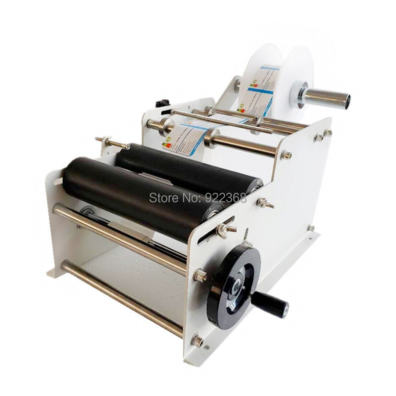 Guarantee 100% Hot Sale Manual Round Bottle Labeling Machine For Small Business