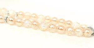 Image 4 - New 10mm Glass Bead 33 Prayer Beads Islamic Muslim Tasbih Allah Mohammed Rosary for women men