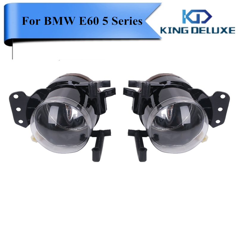 Front Fog Lights For BMW E60 5 Series 525i 530i 535i 545i 550i 2004 2005 2006 2007 2008 Fog Light Foglamp Left & Right #P372 free shipping for vw polo 2005 2006 2007 2008 new front left side halogen fog light fog light with bulb