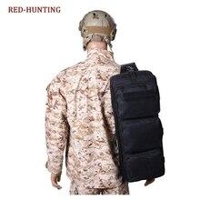 24'' Gun Bag Tactical Airsoft Shoulder Carrying Dual Rifle Case Black Military H