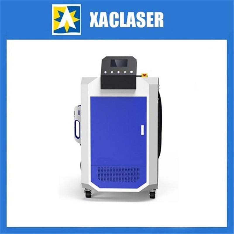 Selektive reinigung 3D reinigung 50 Watt/100 Watt/200 Watt faserlaser reinigung maschine für Metall oberfläche rost entfernung