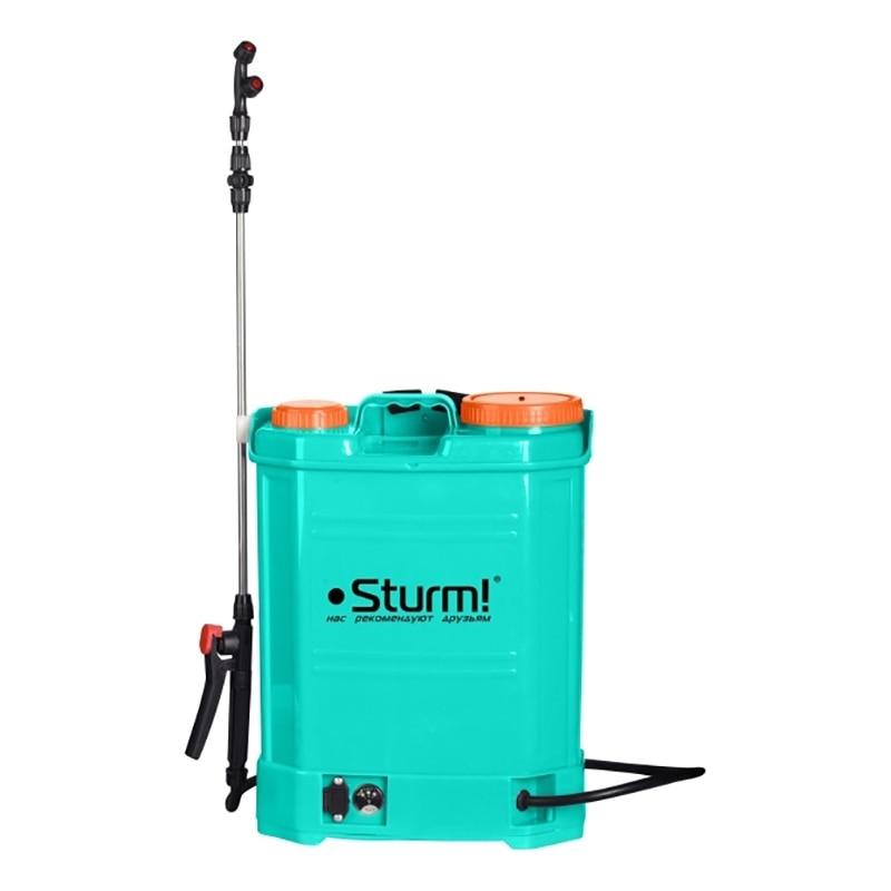 Фото - Sprayer knapsack battery Sturm! GS8216BM (tank 16 L, battery V 8 Ah Battery, pressure 4 bar) футляр think tank dslr battery holder 4