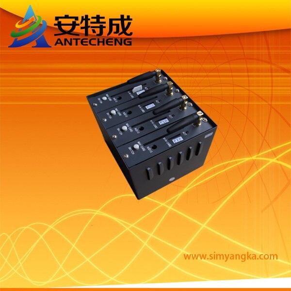 GSM Wavecom Q2406 USB 4 Ports Modem Pool Bulk SMS Sending 900/1800MHz