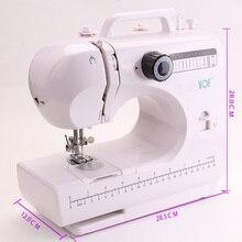 VOF FHSM-506 Бытовая мини Портативная швейная машина для шитья с детьми