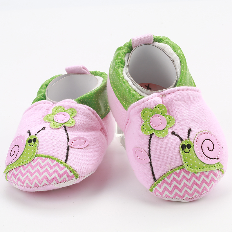 [simfamily]Soft Indoor Baby Shoes Toddler Boys Girls Skid-Proof Baby Crib Shoes First Walkers