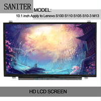 SANITER Apply to Lenovo S100 S110 S105 S10 3 M13 10 inch ultra thin LCD screen display