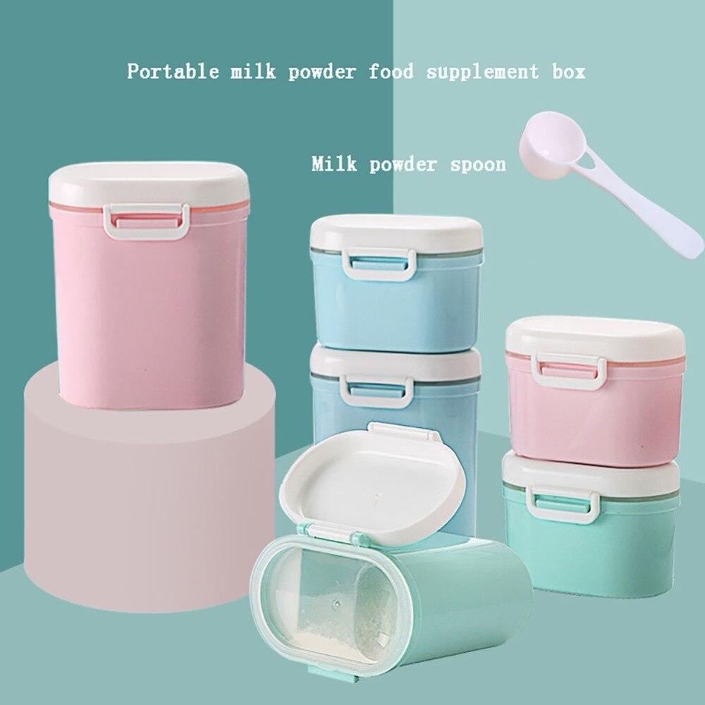 Baby Food Storage Box Tragbare Kleinigkeiten Box Milch Pulver Organizer Container Empfangen Box Geschenk Fall 3 Farbe Flaschenzuführung Aufbewahrung Von Säuglingsmilchmischungen