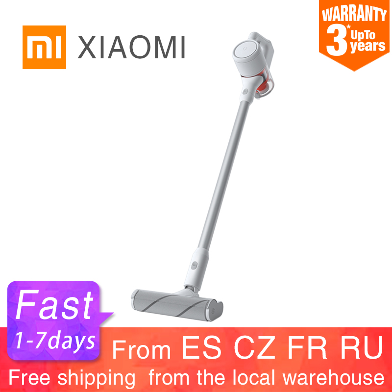 XIAOMI MIJIA Handheld Vacuum Cleaner for Home Car household Wireless aspirador 23000Pa cyclone Suction Multifunctional Brush