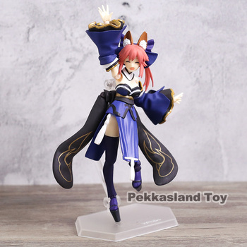 Fate Grand Order Anime Extra Caster Tamamo No Mae Figma 304 PVC Action Figure Model Doll Toys Gift