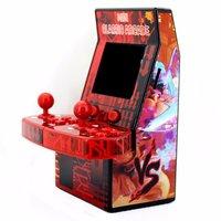 נייד משחקי מיני נייד קונסולת משחקי הווידאו כף יד קלאסי ארקייד מכונת רטרו מובנה 183 משחקי ארקייד תמיכה TF כרטיס (2)