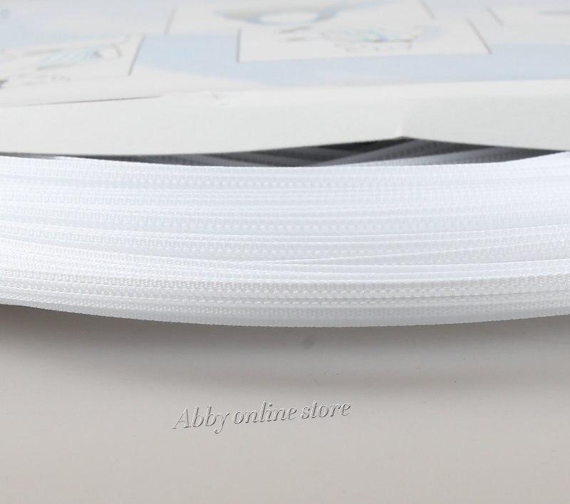 50 yds Polyester/Kunststoff Boning Für Pflege Abdeckung ~ 3/25 \
