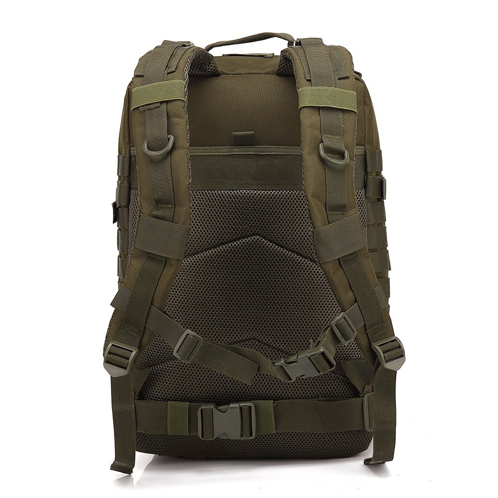 45L grande capacité homme armée tactique sacs à dos militaire assaut sacs en plein air 3 P EDC Molle Pack pour Trekking Camping sac de chasse - 3