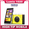 "Free gift! Nokia Lumia 1020 original mobile phone unlocked 4.5"" Touch screen 41.0MP Camra 32GB ROM 2G Dual core WIFI Refurbished"