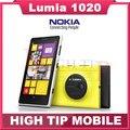 "Teléfono móvil Nokia 1020, lumia desbloqueado 4.5 "" pantalla táctil 41.0MP Camra 32 GB ROM 2 G Dual core WIFI reformado"