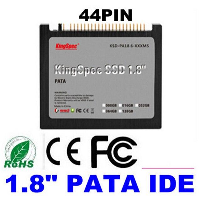 """Бесплатная доставка Kingspec 1.8 """"IDE 44pin PATA SSD 8 ГБ 16 ГБ 32 ГБ 64 ГБ 128 ГБ Твердотельный жесткий диск для DIY PC Ноутбук IBM ThinkPad"""