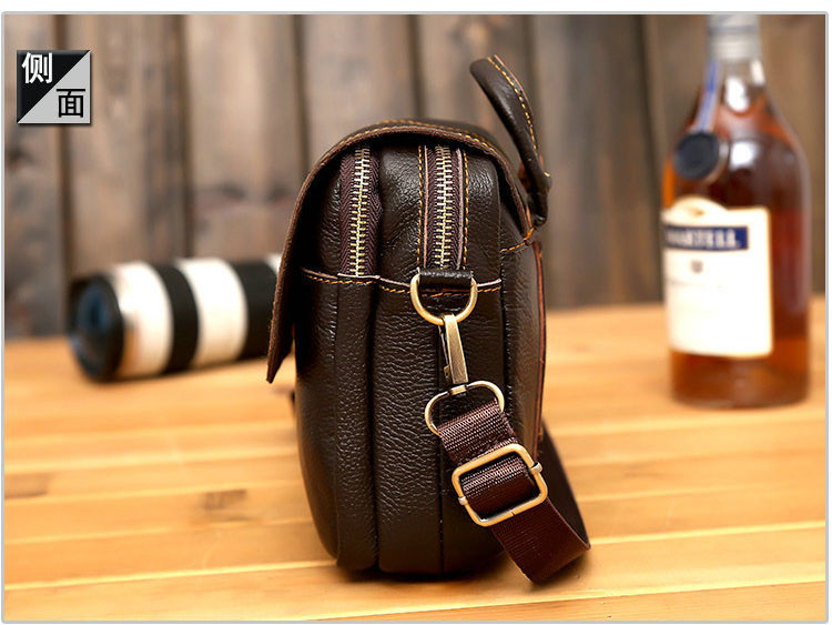 2f76438c22d New 2017 New Style Genuine Leather Men Messenger Bags Shoulder Bags ...
