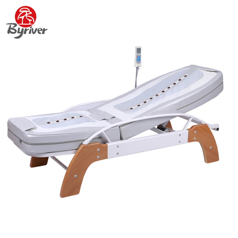byriver factory direct sale 5pcs jade stone roller massage bed table mainland - Massage Table For Sale