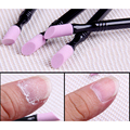 1Pc Double-end Quartz Cuticle Remover Washable Dead Skin Pusher Trimmer Manicure Nail Art Tool