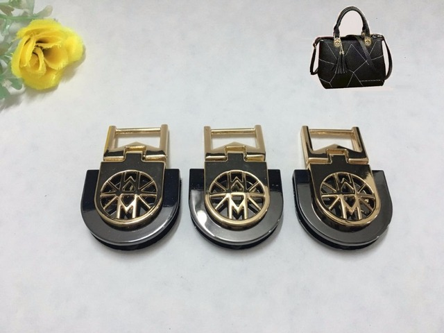 Bag with Parts & Accessories (10 PCS/lot) handbags leather hardware link arm in arm belt buckle decorative Accessories