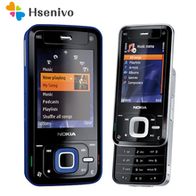 Refurbished Unlocked Original Nokia N81 GSM 3G network WIFI 2MP camera FM 2.4 inch Mobile Phone 1 Year Warranty Free shipping