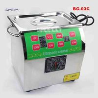 ZJMZYM New Arrival BG 03C Digital Cleaning Machine Adjustable Household 304 Stainless Steel Ultrasonic Cleaners 220v 150W 6.5L